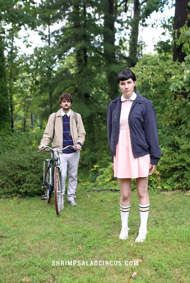 diy stranger things halloween costume eleven