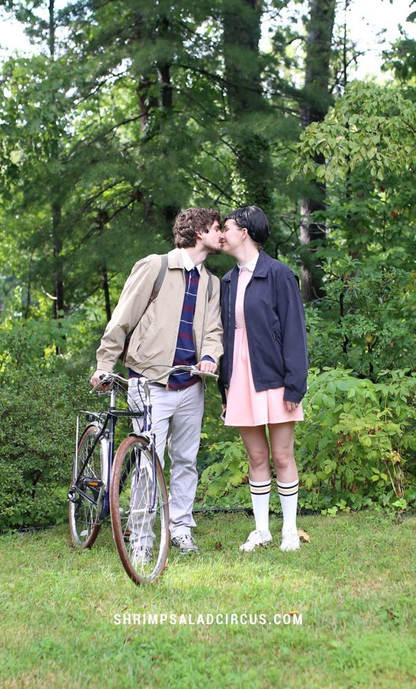 DIY Stranger Things Halloween Costume Idea for Couples - Mike and Eleven