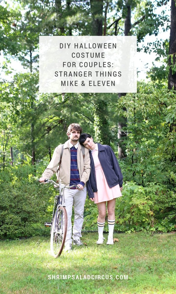 Diy Stranger Things Halloween Costume For Couples Mike