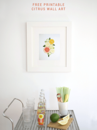 Free Printable Citrus Wall Art to Make Your Home Sparkle Brightly thumbnail