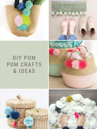 DIY Pom Pom Crafts + Favorite Finds No. 90 thumbnail