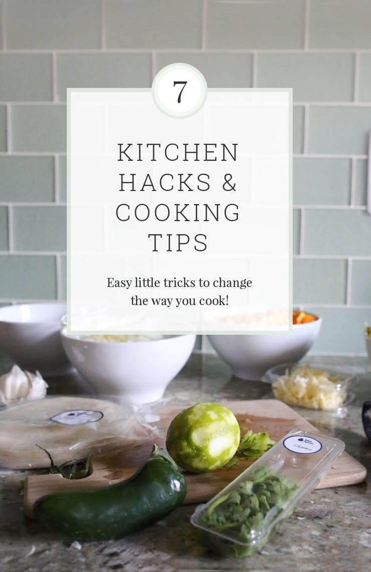 7 Kitchen Hacks And Cooking Tricks You Can't Live Without