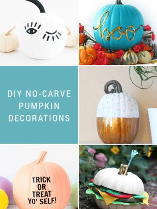 DIY No Carve Pumpkin Ideas + Favorite Finds No. 91 thumbnail