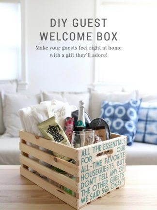 DIY Guest Welcome Box + Free Printable Template thumbnail