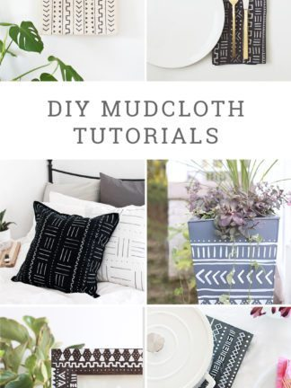 DIY Mudcloth Tutorials + Favorite Finds No. 92 thumbnail