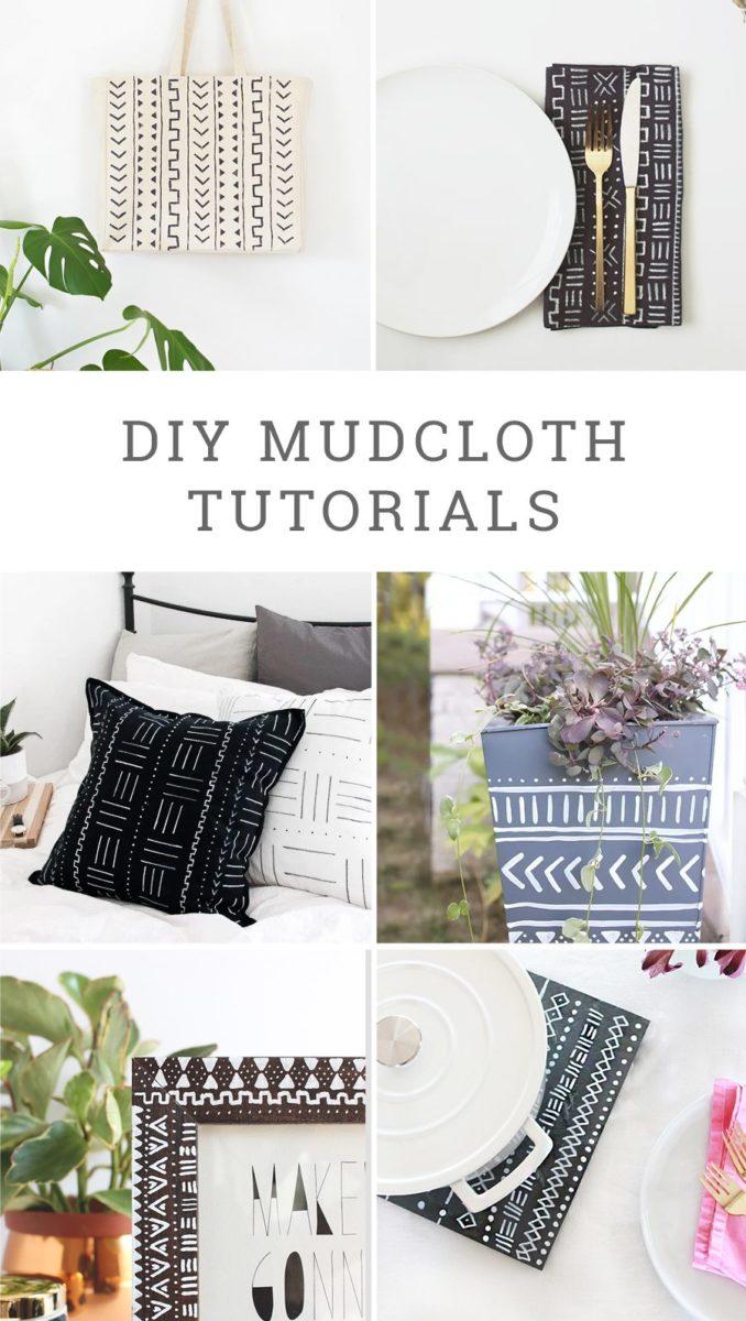 DIY Mudcloth Tutorials
