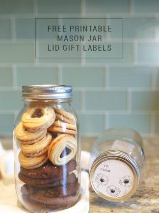 Free Printable Mason Jar Gift Tags + Mega Giveaway thumbnail