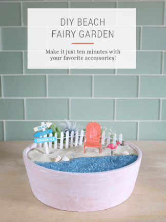 DIY Beach Fairy Garden Tutorial thumbnail