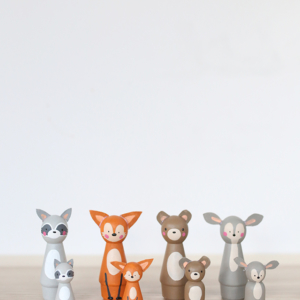 DIY Peg Doll Animals