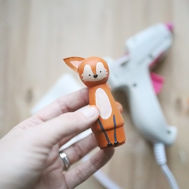 DIY Peg Doll Animals - Step 6