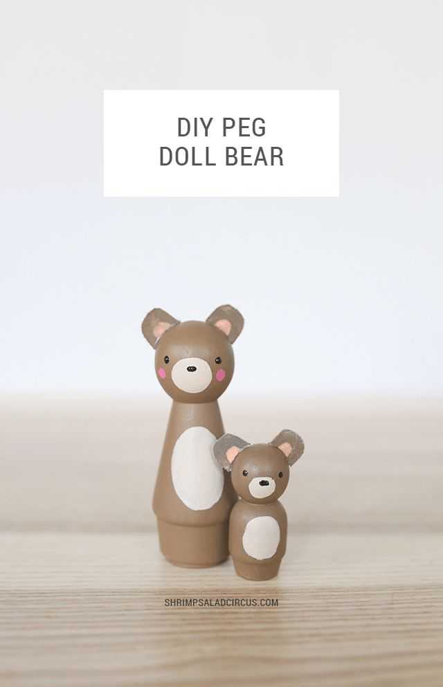 Diy Peg Doll Animals Create Your Own Adorable Wooden Forest