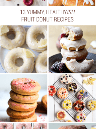 [Sort of] Healthy Fruit Donut Recipe Roundup thumbnail