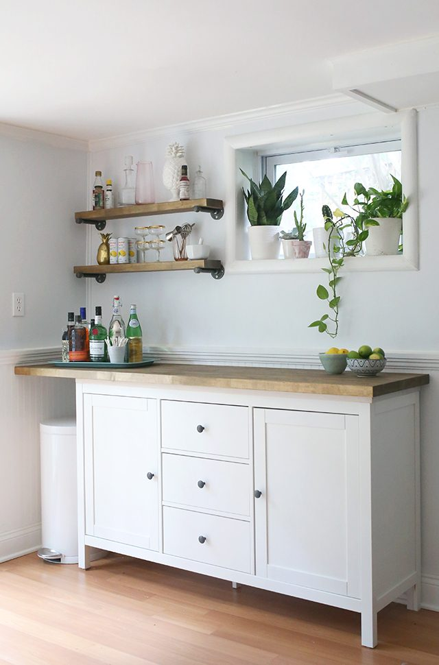 Diy Ikea ikea hacks diy bar cabinet kitchenette shrimp salad circus