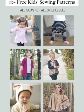 Free Sewing Patterns for Kids for Fall thumbnail