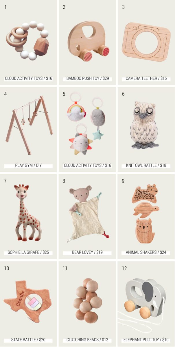 The Best Pastel and Neutral Baby Toys