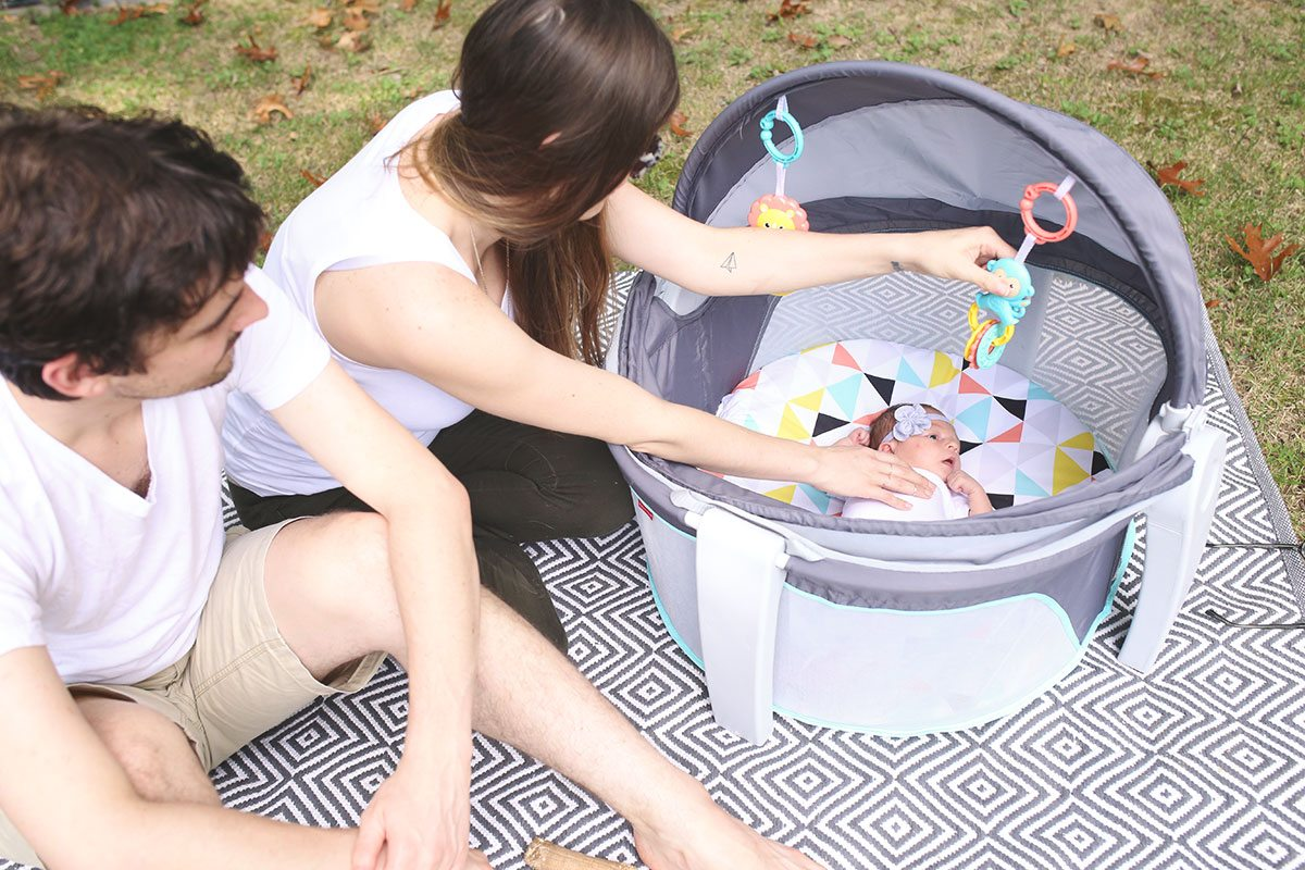 Tips for Enjoying Time Outside With a Newborn