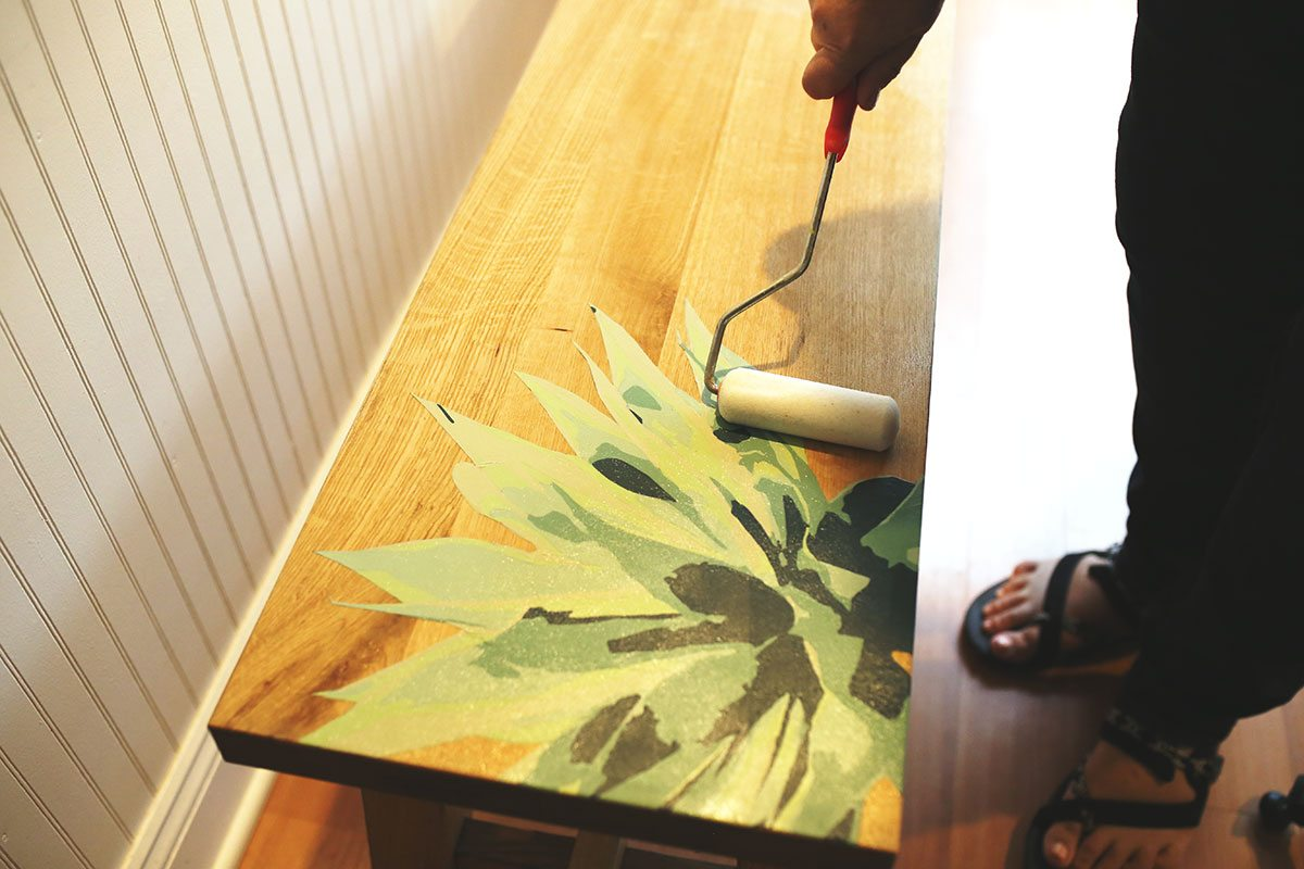 Paint by Numbers Furniture IKEA Hacks