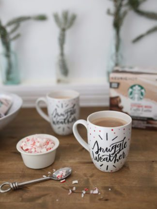 How to Paint Your Own Holiday Mug for the Starbucks® Share the Cheer Sweepstakes thumbnail
