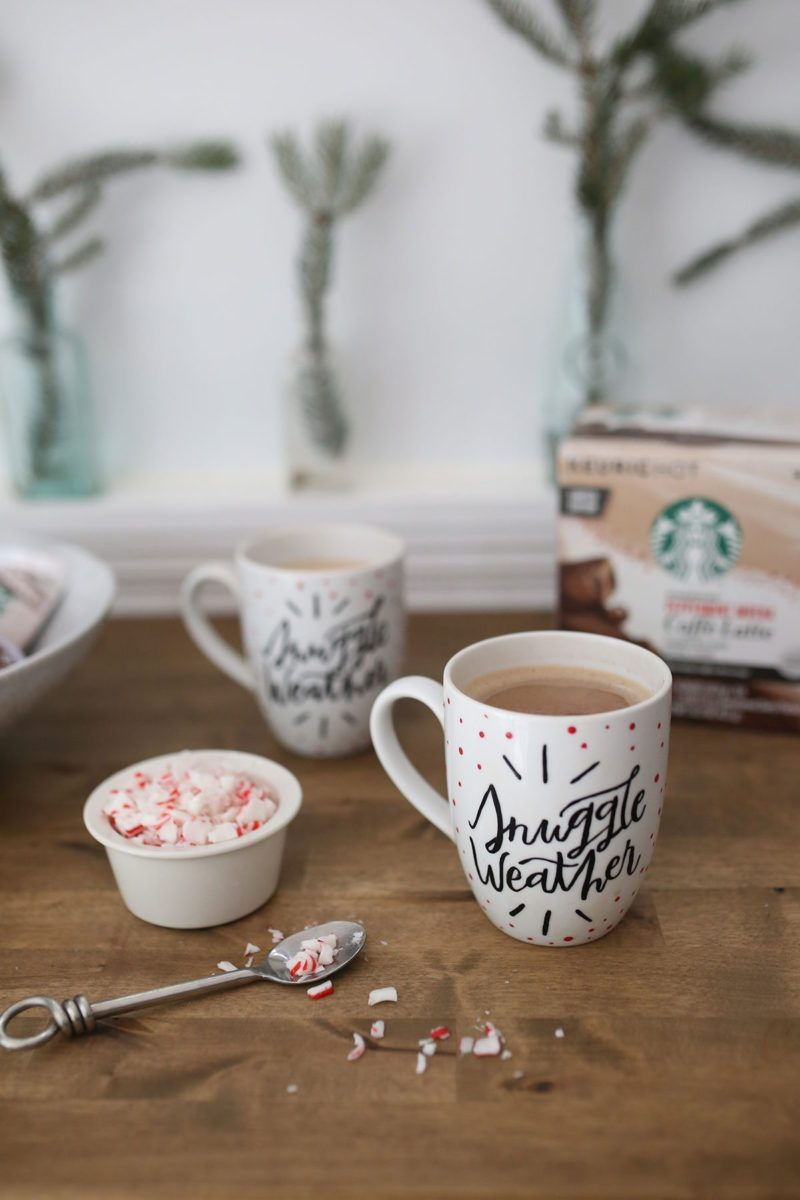 How to Paint Your Own Holiday Mug for the Starbucks® Share ...