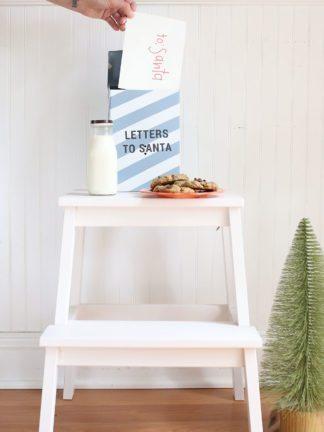 DIY Letters to Santa Mailbox thumbnail