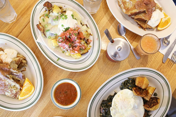 Breakfast at Penny Cluse Cafe in Burlington, Vermont