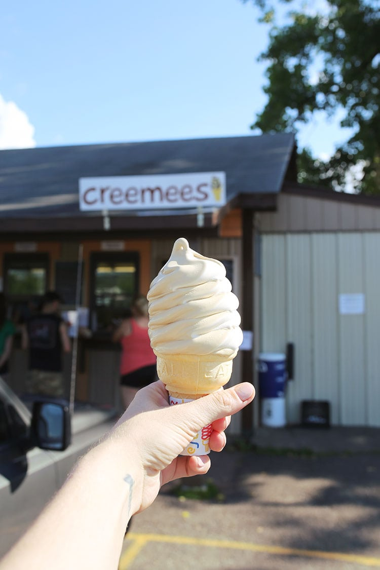 Creemees at Vermont Cookie Love Outside Burlington