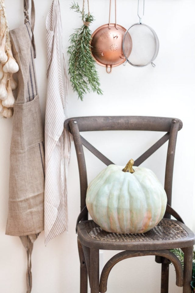DIY Heirloom Pumpkin