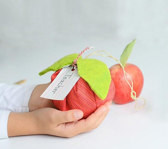 DIY Apple Sachet