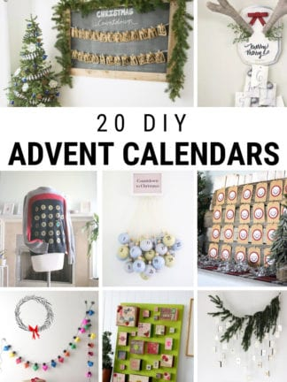 20 Unique DIY Advent Calendars thumbnail