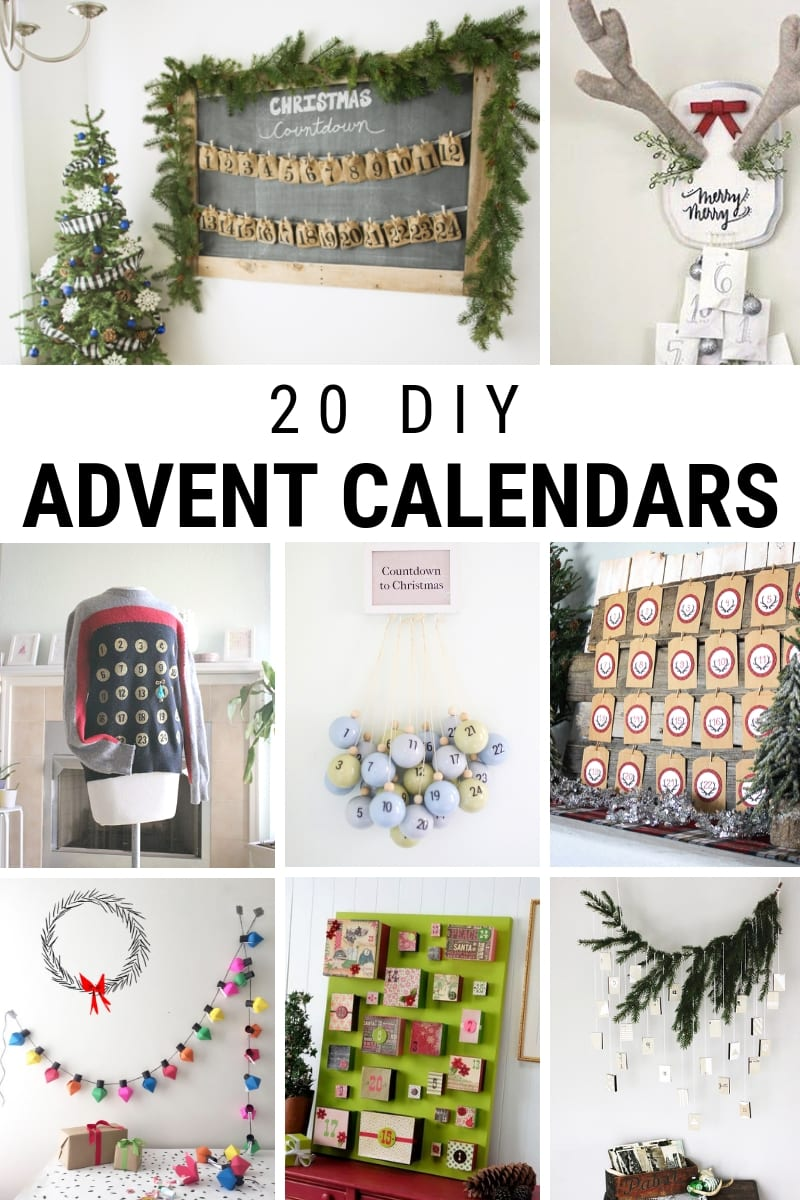 20 Unique DIY Advent Calendars