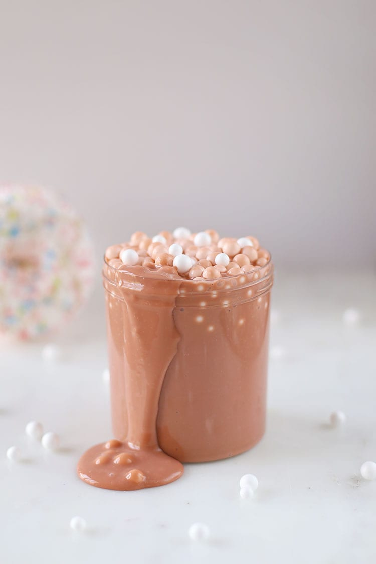 DIY Hot Cocoa Slime Recipe