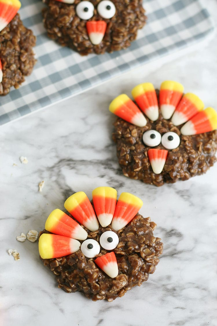 No-Bake Thanksgiving Turkey Cookies Recipe 3