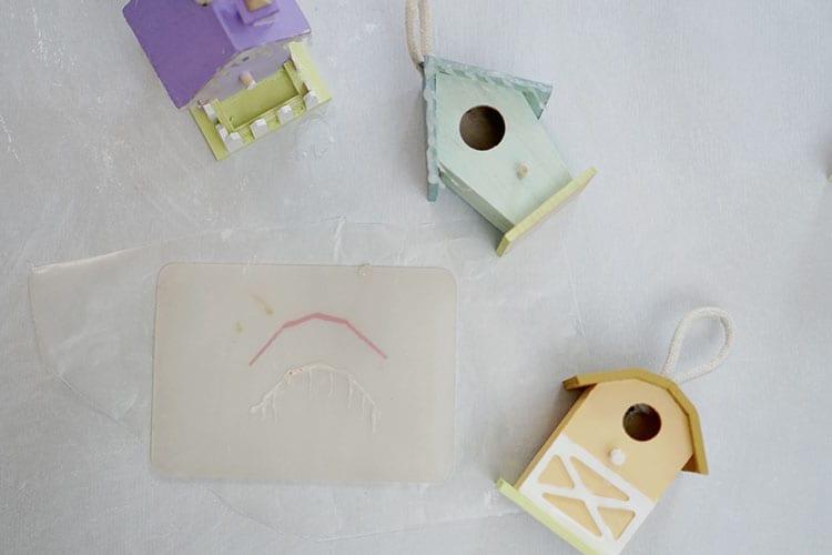 Mini-Birdhouse-Christmas-Village-Ornaments---Step-2