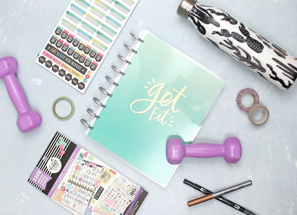 2019 Fitness Goals With The Happy Planner 1