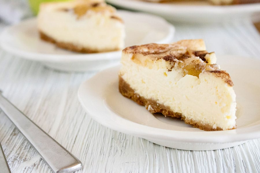 Granny Smith Apple Instant Pot Cheesecake Recipe
