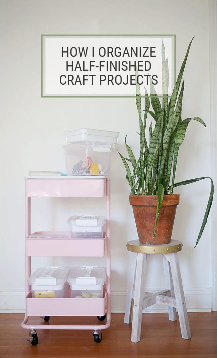 How I Organize Half-Finished Projects