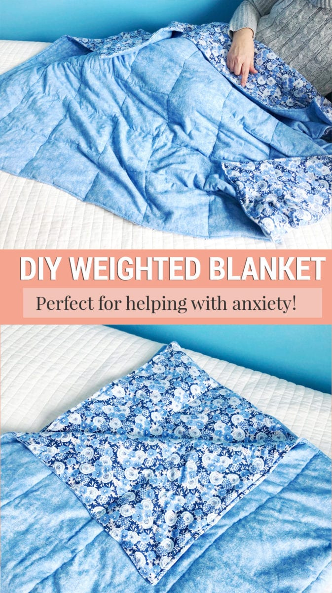Diy How To Make A Weighted Blanket For Anxiety Shrimp Salad Circus