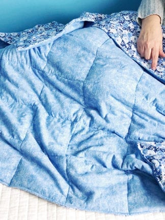 DIY: How to Make a Weighted Blanket for Anxiety thumbnail