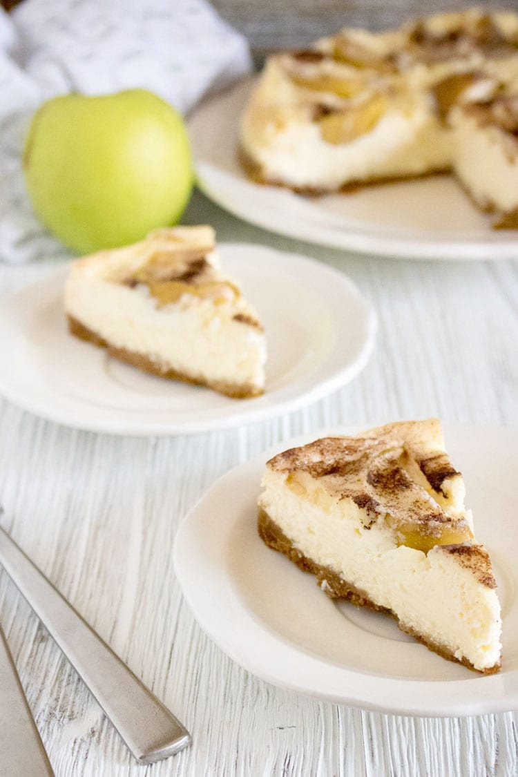 Instant Pot Granny Smith Apple Cheesecake Recipe
