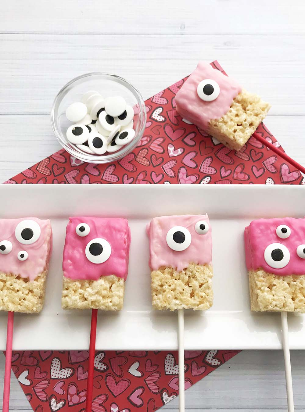 Valentine Rice Krispie Treats Recipe