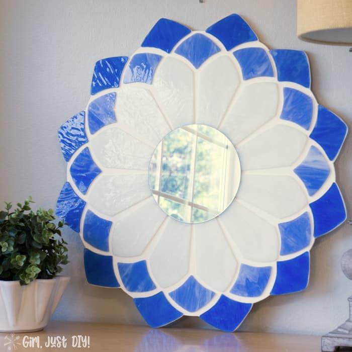 Easy Tiffany Mirror DIY