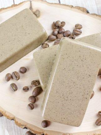 Easy Vanilla Coffee Soap Recipe thumbnail