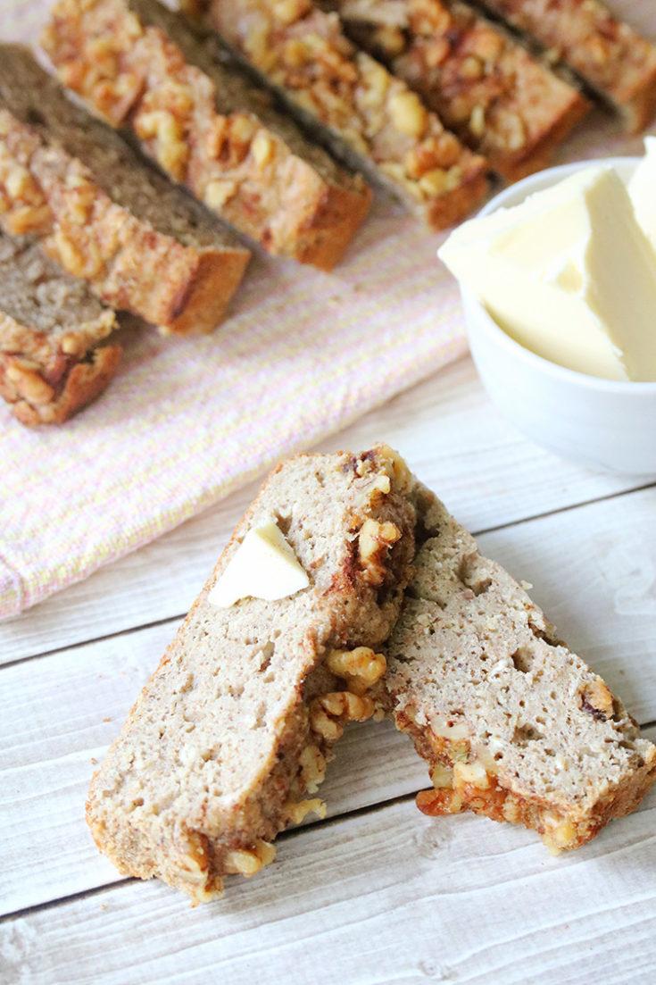 Dairy-Free Gluten-Free Banana Bread Recipe