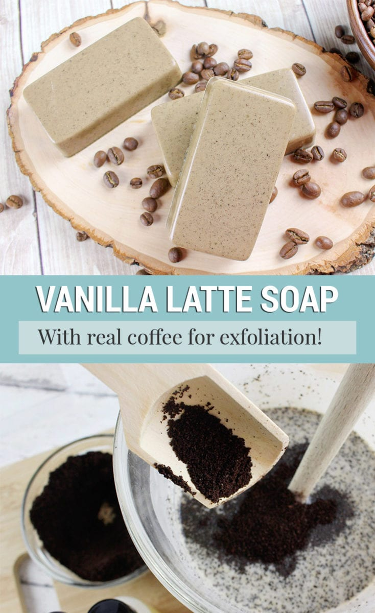 Easy Vanilla Coffee Soap Recipe