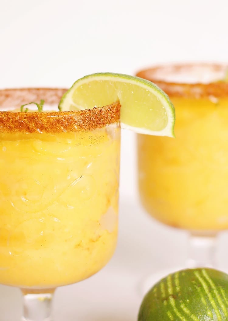 Frozen Chili Lime Mango Margarita Recipe