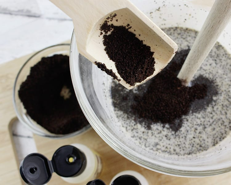Ground Coffee Soap Recipe