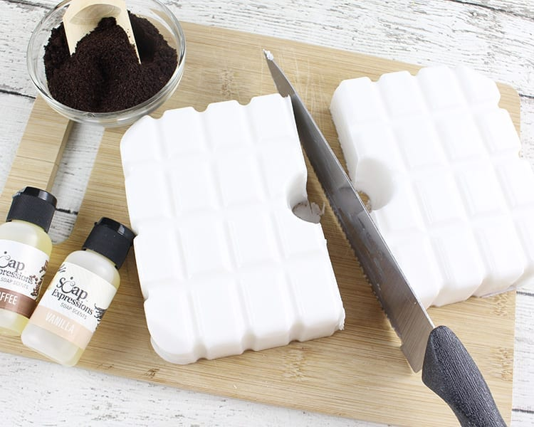Melt and Pour Soap Suspension Base for Coffee Soap Recipe
