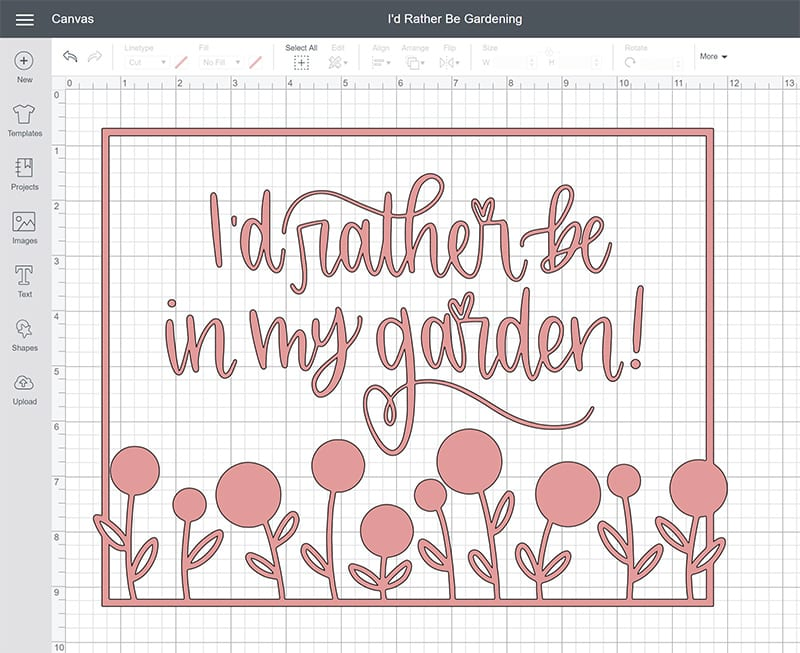 Cricut Design Space Infusible Ink SVG