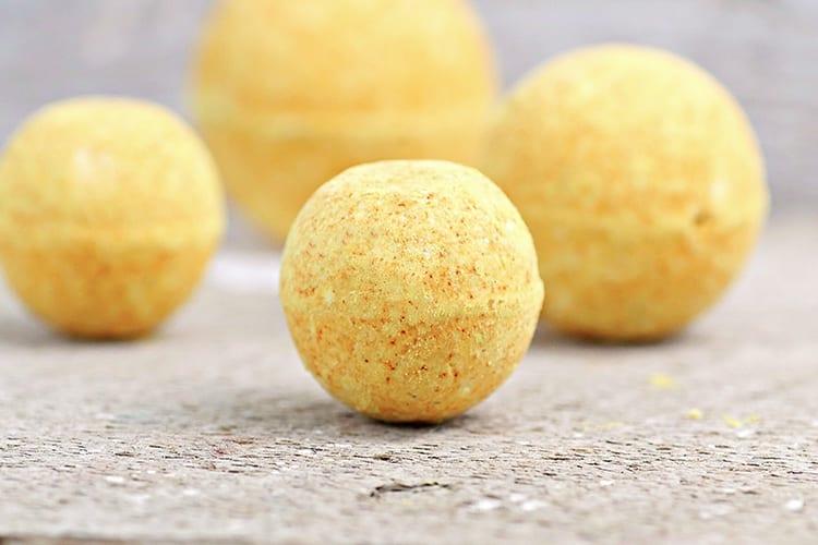 Turmeric All Natural Bath Bomb Recipe