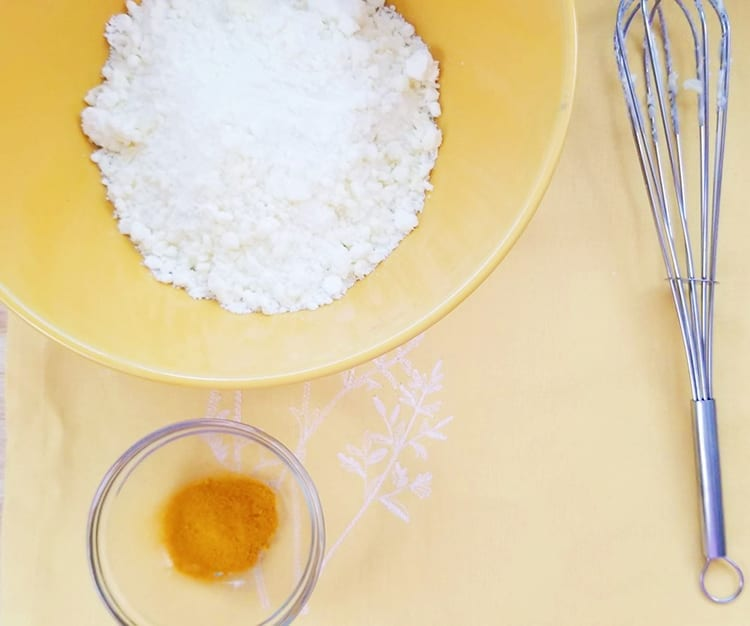 Turmeric Natural Bath Bomb Recipe - Step 4